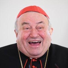Cardinal Karl Lehmann during the award ceremony for the Wilhelm-Leuschner-Medaille