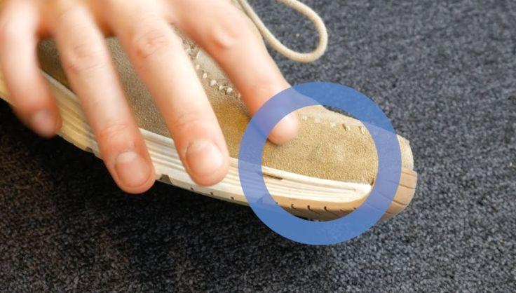 Suède schoenen ogen chic, maar die vlekken die je er met geen mogelijkheid uit krijgt, zijn dat een stuk minder. Met deze tip ben je er zo van verlost.