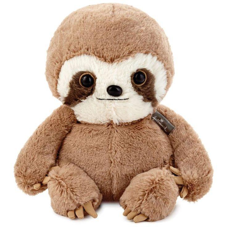 "Baby Sloth Stuffed Animal, 8"" Cute stuffed animals, Baby"