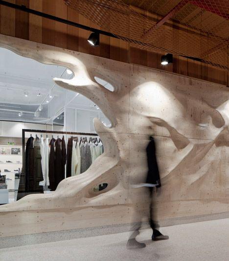 Oslo boutique by Snøhetta reinterprets the Scandinavian story of creation.