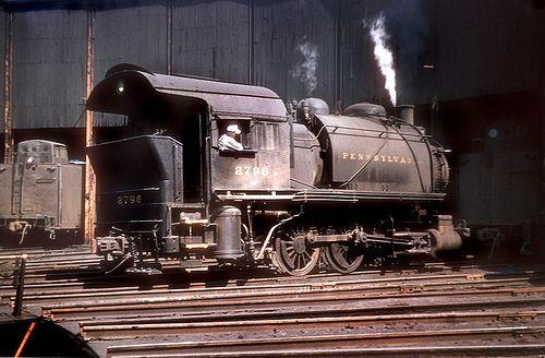Pennsylvania Railroad 0-6-0T (Shop Goat), B8a class, tank … | Flickr