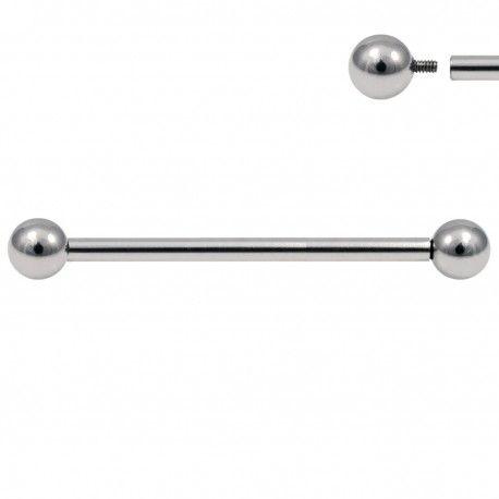 Piercing Industriel Acier Pas de vis interne #piercing #piercingoreille #piercinginterne #piercingindustriel #piercingacier #piercingaddict