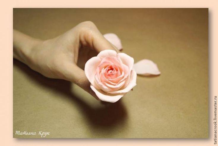 Как создать нежную розу из фоамирана - Ярмарка Мастеров - ручная работа, handmade