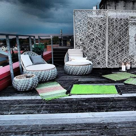Who says we can t enjoy outdoors when fall kicks in? Here s proof of the oposite!! Enjoy the cloudy but romantic sky in Dala by Dedon! #avax #avaxdeco #dedon #dala #outdoor #interiordesign @avax_deco
