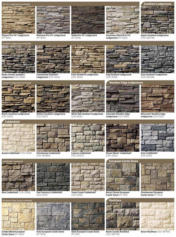 Natural Stone Veneers ǀ Faux Stone Siding ǀ Stone Veneer: Exterior Home Stone Veneer