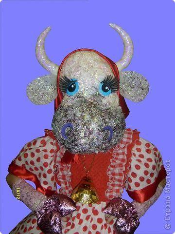 Маски Новый год Шитьё Корова Маскарадный костюм  фото 1