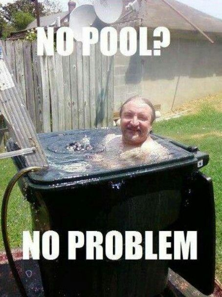 Redneck ingenuity right there son, now that's the true definition of stinkin thinkin. Lol