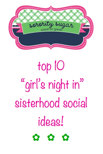 sweet on greek sisterhood social themes, love the belly dancing idea!