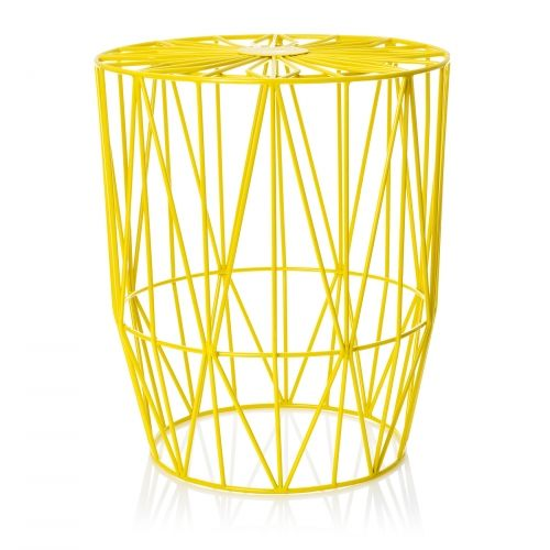 Yellow Wire Table