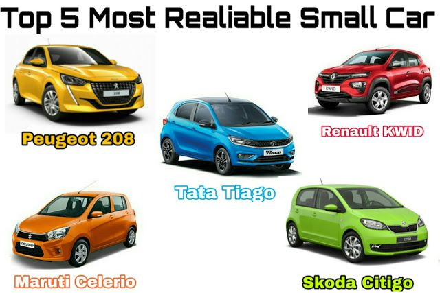 Top 5 Most Reliable Small Car 2020 Most Expensive Cars In The World 2020 Small Cars Car Hatchback Cars