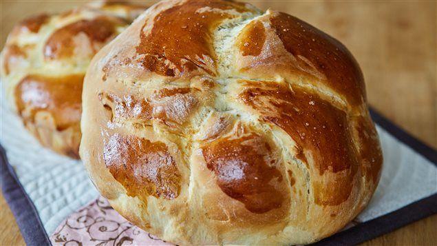 Recette de pain des Fêtes