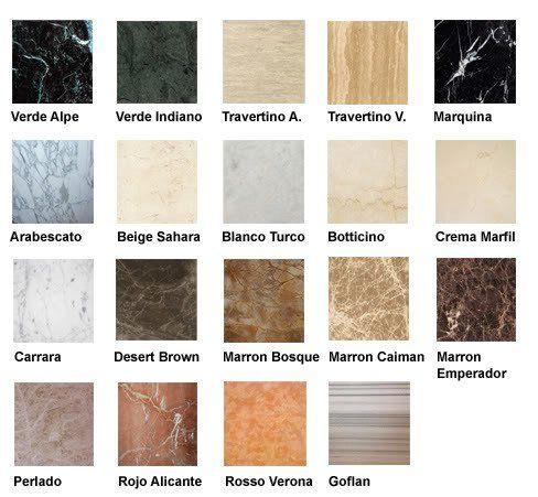 Las 25 mejores ideas sobre tipos de granito en pinterest - Tipos de marmol ...