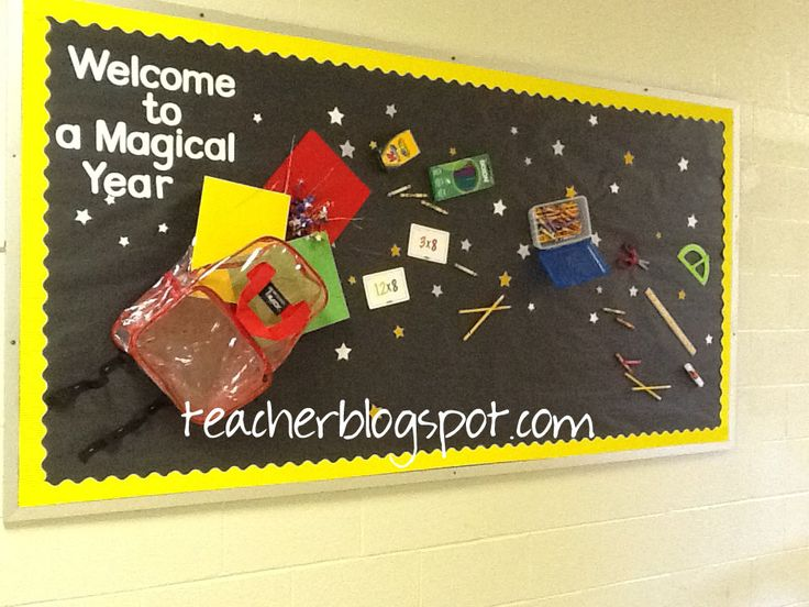 Welcome Back To School Bulletin Boards Ideas   Bing Images