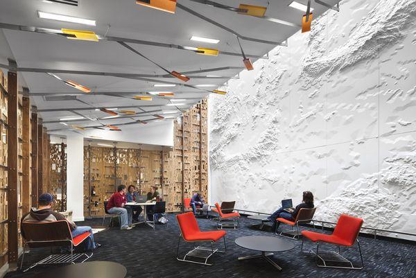 Sullivan Family Student Center on Interior Design Served