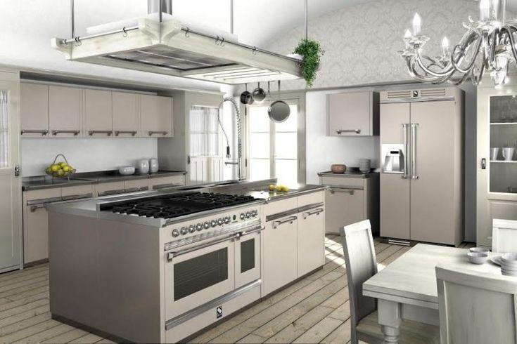 Cucina Ascot di Steel, nuove tinte pastello http://atutto.net/1F02nt1 #Cucina, #CucinaDesign, #CucinaModerna, #Steel