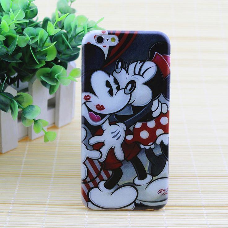 New fashion Cute Mickey Mouse Soft TPU Cover Case For apple iPhone 4 4S 5 5S SE 6 6S 6 Mickey and Minnie Thin Cases #clothing,#shoes,#jewelry,#women,#men,#hats,#watches,#belts,#fashion,#style