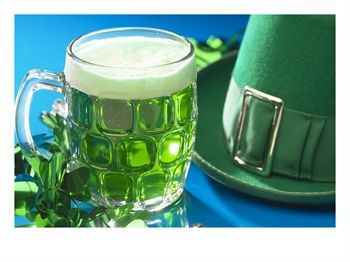 Saint Patrick's Day ... now why would you want to go on and ruin perfectly good beer with green coloring! ;-D