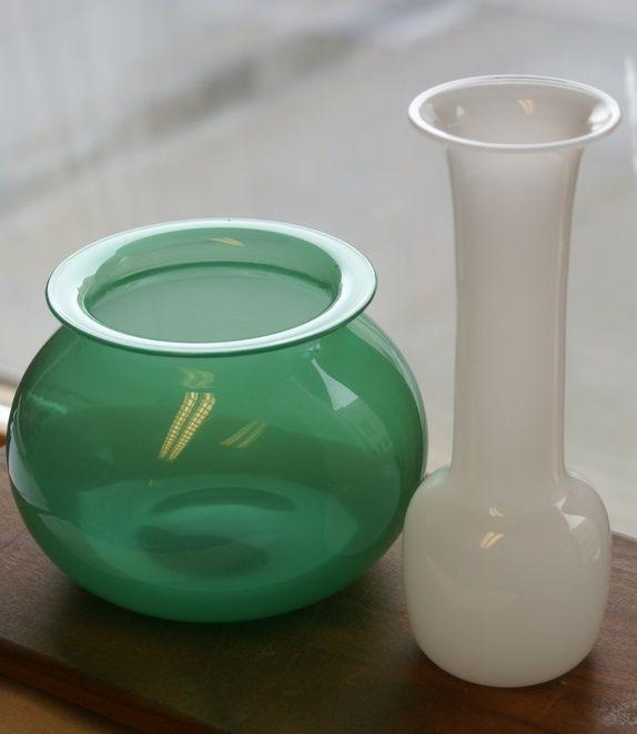 Fin bolle og vase fra Hadeland- APRIL design Willy Johansson