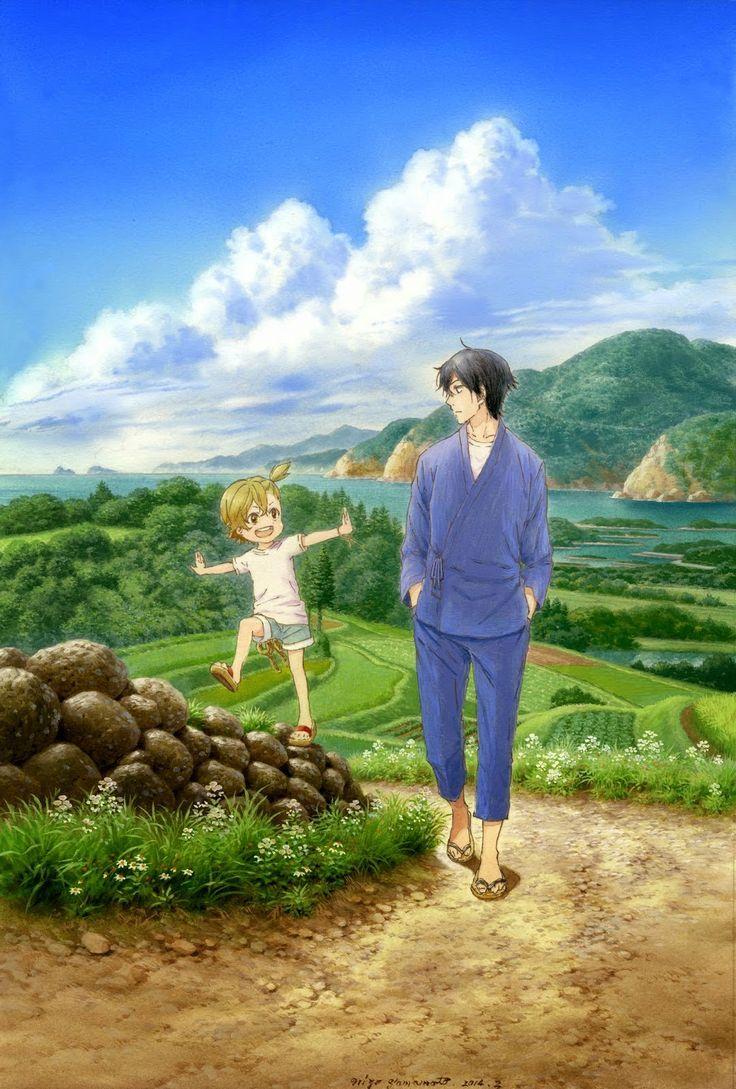 Naru and Sensei // Barakamon