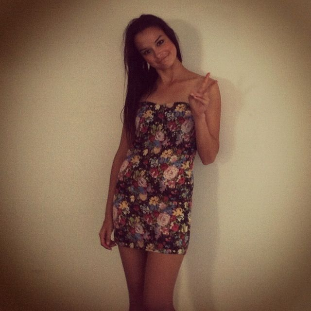 Cute $75.00 floral frank dress