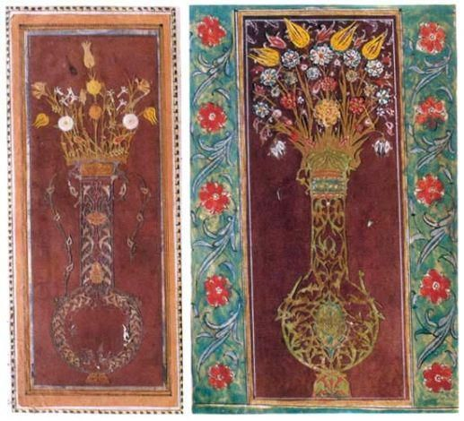 Mehmed Sirozi, Flower And Garden Kiosk, The Art Of Kaati