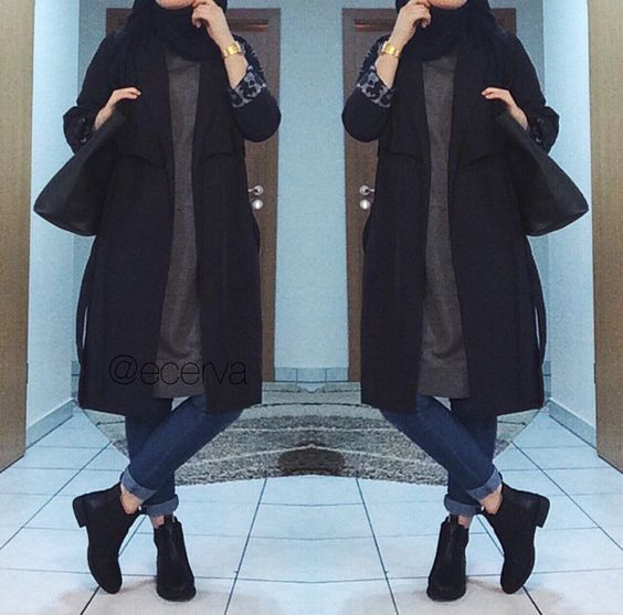Les 25 meilleures id es de la cat gorie mode hijab sur pinterest mode musulmane styles de Fashion style and mode facebook