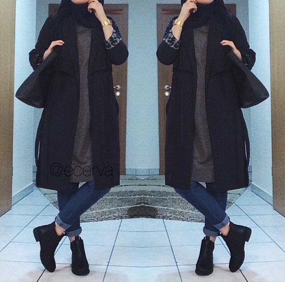 Les 25 meilleures idées de la catégorie Mode hijab sur Pinterest