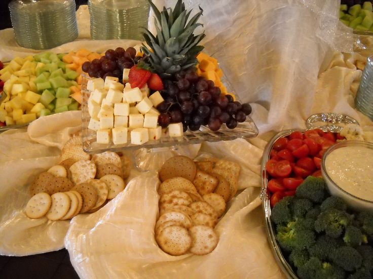Receptions Food Displays And Prime Time On Pinterest: Wedding Reception Food Trays