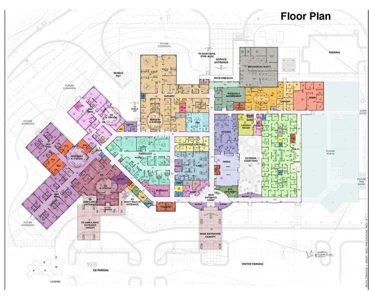 Maternity Hospital Floor Plan: Veterinary Hospital Floor Plans - Hospital Design