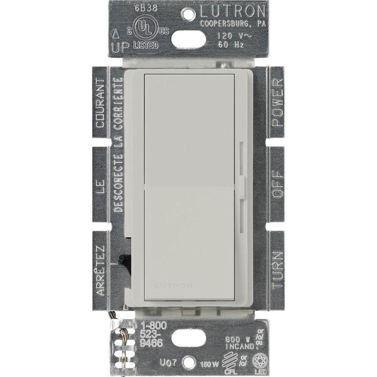 Diva 150-Watt Single-Pole/3-Way CFL-LED Dimmer -