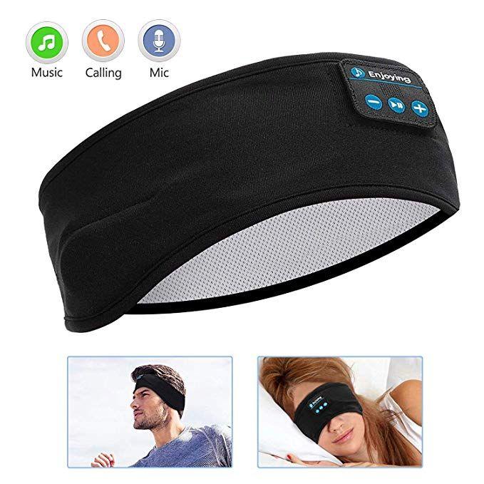 Sleep Headphones Bluetooth Voerou Wireless Headband Headphones Sports Sweatband Sports Headphones Sleep Headphones Sports Headbands