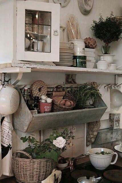 romantisme dans la cuisine