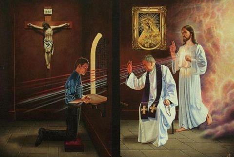 Jesus forgives when I confess