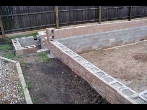 Best 25 Concrete Blocks Ideas On Pinterest Garden Ideas Concrete Blocks Garden Ideas On