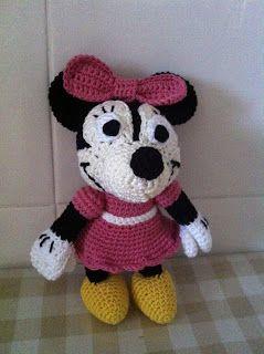 Minnie Mouse Disney Patrón Amigurumi | donpatron | 320x239