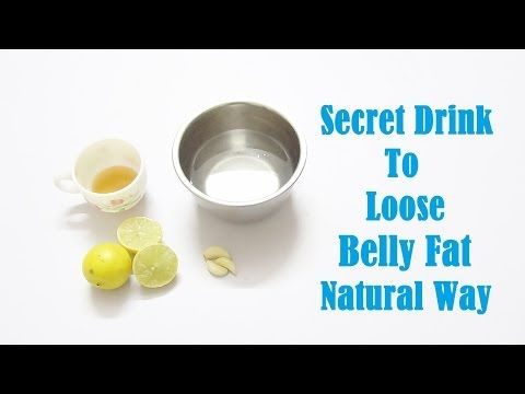 Effective & quick way to lose belly fat With Garlic,Lemon Natural Home Remedies For Belly Fat - YouTube