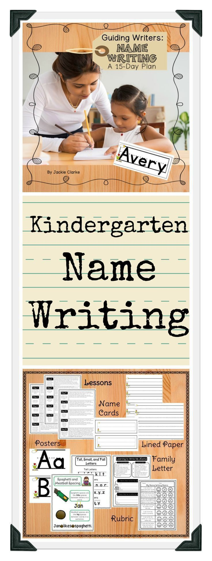 Before children can begin to practice writing their name, they need instruction on letter shapes, uppercase/lowercase letters, and how to use letter lines. The lessons in this resource provide those crucial first steps and were designed to be used as a supplement to your handwriting program.