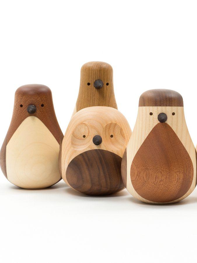 Re-Turned by Discipline | #design Lars Beller Fjetland #wood #pet #owl