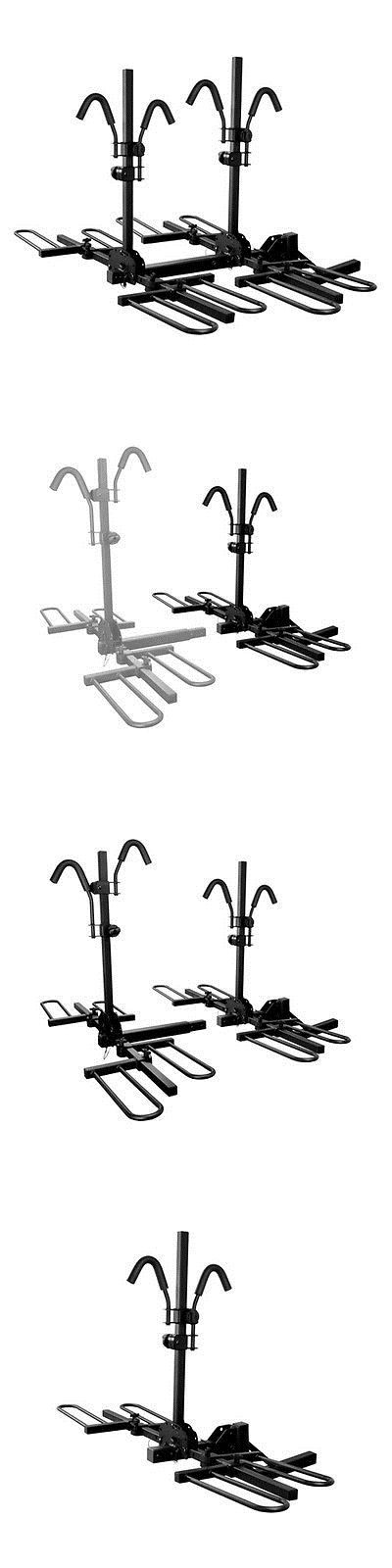 Car and Truck Racks 177849: Curt 18086 - Tray-Style Hitch Mount Bike Rack (4 Bike Fits 2 Receivers) BUY IT NOW ONLY: $242.5