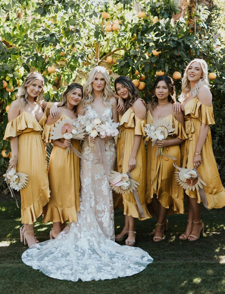 Mustard Bridal Dresses Off 79 Buy