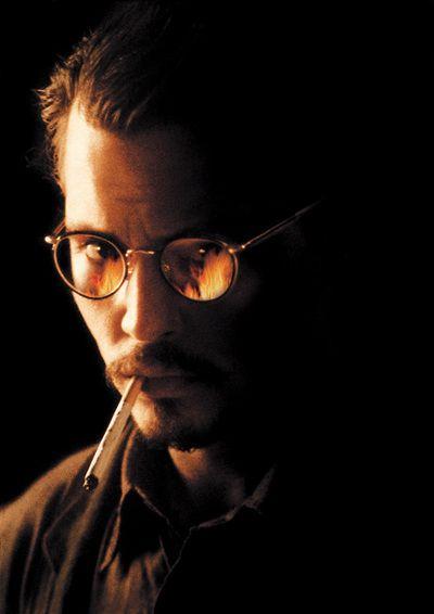 "Johnny Depp publicity still for ""The Ninth Gate"" poster"