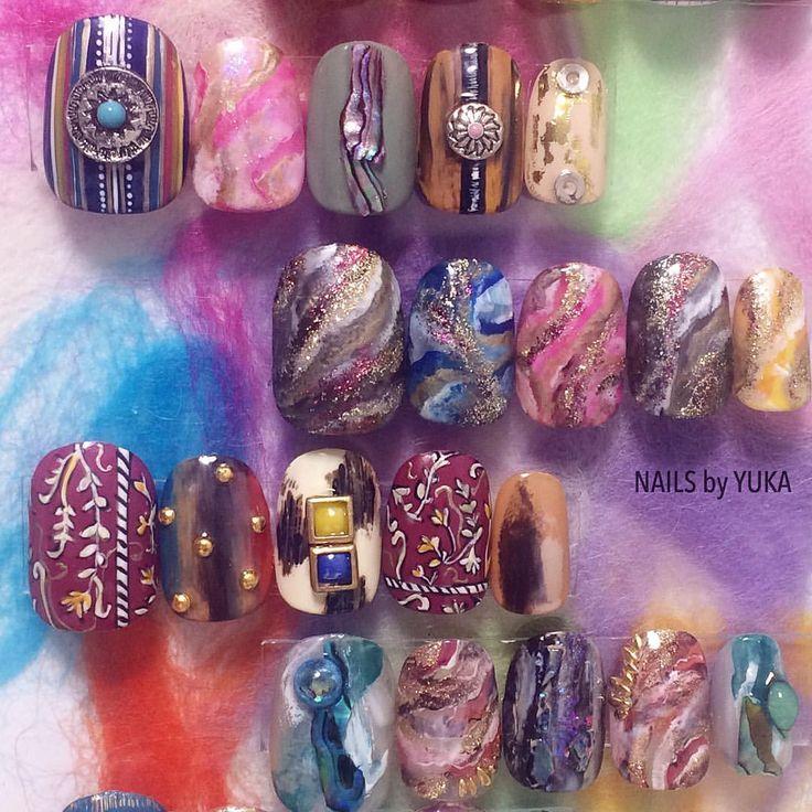 New designs * ご予約&お問い合わせ 【東京】➡︎10/1〜10/21、11/4〜11/18 nailsbyyuka.tokyo@gmail.com nailsbyyuka * 【名古屋】➡︎10/22〜11/3、11/19〜11/30 nailsbyyuka.com@gmail.com * #nailsbyyuka * #nails#nailart#fashion#nailswag#nailstagram#gelnails#love#beatiful#tokyo#天然石ネイル#ネイル#ネイルアート#ショートネイル#ジェルネイル#秋ネイル#秋#鉱石ネイル#モロッコネイル#渋谷#表参道#青山#名古屋#栄
