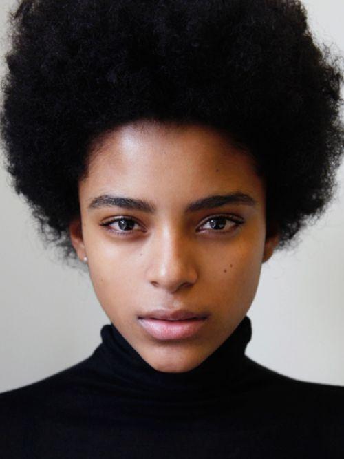 short afro hair. short natural hair.  beautiful hair. healthy afro.
