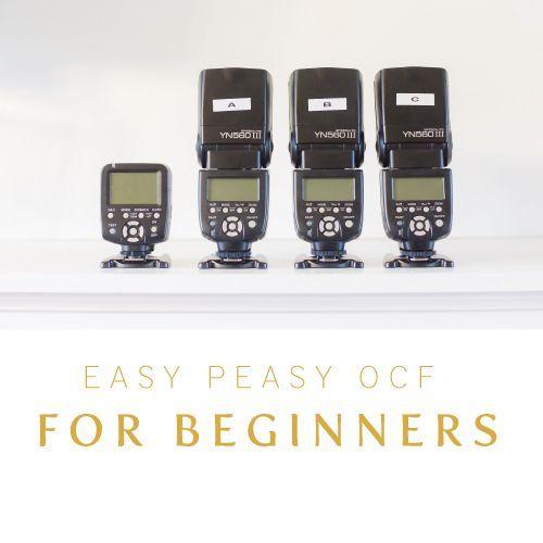 OCF for Beginners | Cinnamon Wolfe Photography | NJ Wedding Photographer