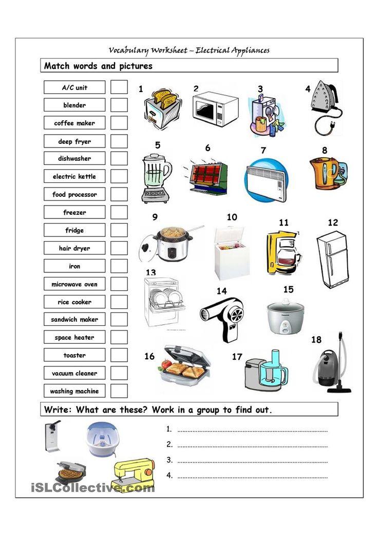 39a68b2a5887359958e53f6cb33f7249 home appliances learn english