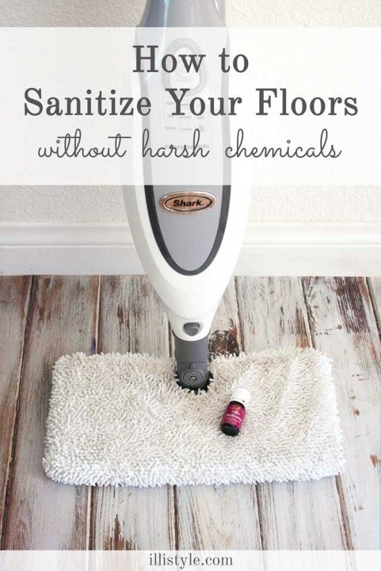 Excellent tips for cleaning your floors without chemicals.  Spring cleaning just won't be the same without this tool!