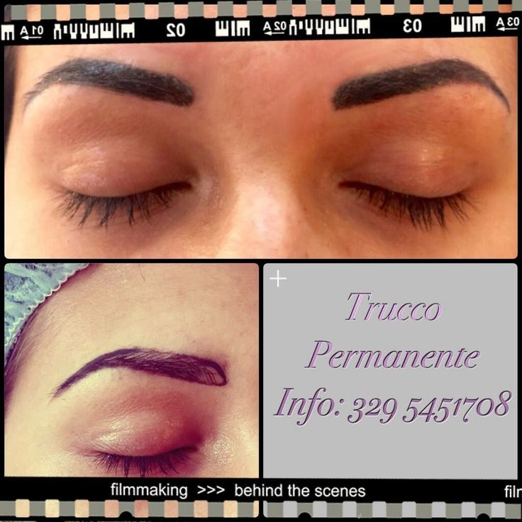 Permanent make-up: sopracciglia