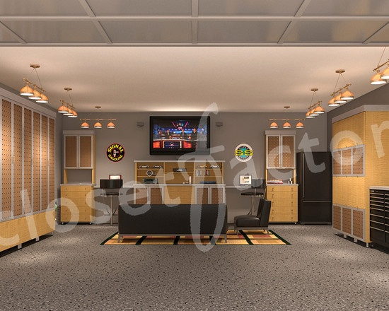 garage office design pictures remodel decor and ideas page 8