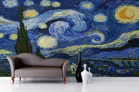 let your favourite artist inspire your decorating night
