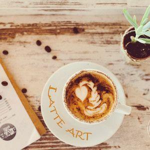 Latte art, espresso coffee
